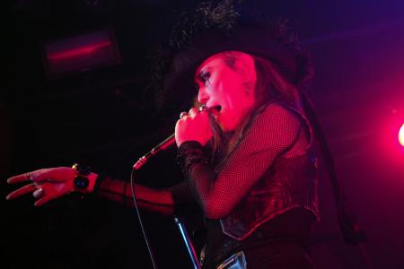 Madame Edwarda at Art Core Punk Gig